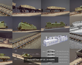 Armored Train BP-35 3D