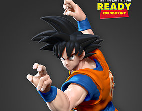 Son Goku - Ready to fight 3D printable model