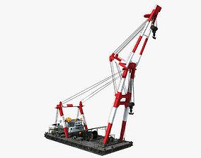 Floating Crane 3D
