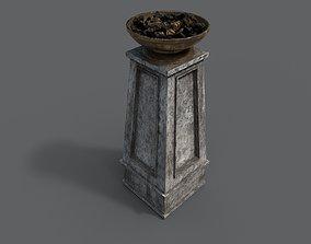 3D model Fire column
