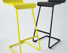 Alto chair 3D asset