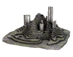 3D model Stone Terrain