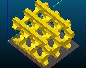 BEA-type Zeolite 3D printable model