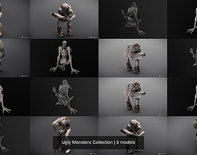3D model Ugly Monsters Collection