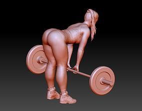 Girl Bodybuilder 3D print model
