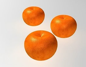Orange fruit 3D