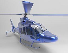 3D Helicopter on base EC155