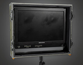 3D model HLW - Display Monitor 01 - PBR Game Ready