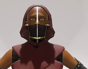 THE ASSASSIN 3D MODEL rigged