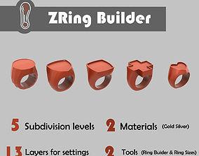 3D Zbrush Ring Builder