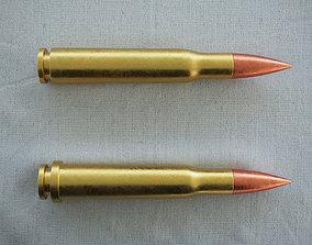 Bullet 3D asset low-poly