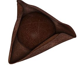 Pirate hat 3D tricorn