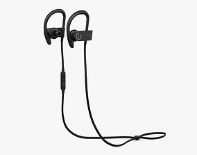 Beats Powerbeats 3 Black 3D model
