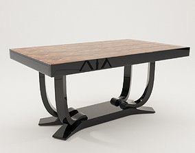 Dining table - Art Deco 1920 3D model art