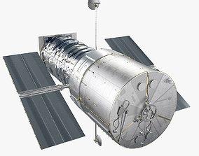 Hubble Telescope 3D model