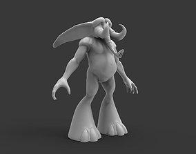 3D Elephant Character
