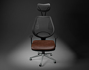Office Chair modern 3D model low-poly