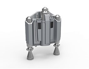 Jetpack from The Mandalorian TV 3D print model