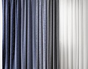 drapery Curtain 130 3D