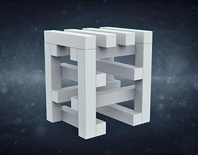 Stool by Erik Olovsson for Studio E O 3D model