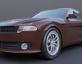 muscle car mark 1 3D
