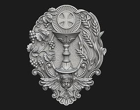3D printable model Holy Communion Medallion