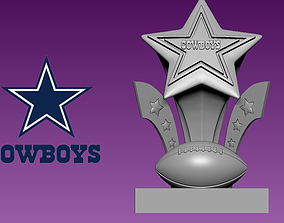 Dallas Cowboys statue - NFL - American 3D printable model