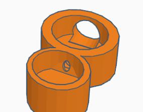 3D small acorn ant nest