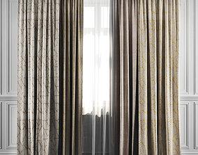 Curtain Set 16 3D
