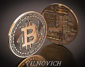 bitcoin 3D printable model