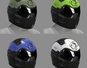 3D asset VX600 Helmet