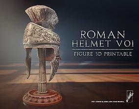 3D printable model Roman helmet V01