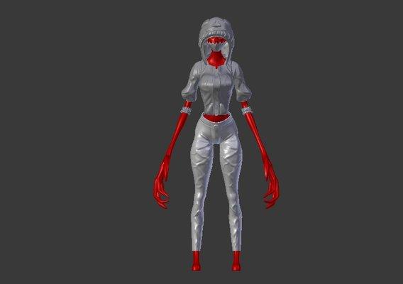 Skull Demon girl