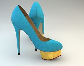 Women shoes 1 3D asset