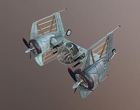TIE Diesel Fighter 3D model