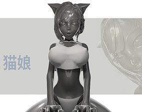 3D Cat Girl