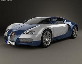 Bugatti Veyron 2005 3D