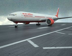 Boeing 777-300ER 3D model