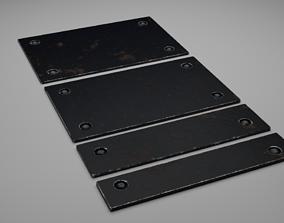 3D model F16 Growth Panels Covers