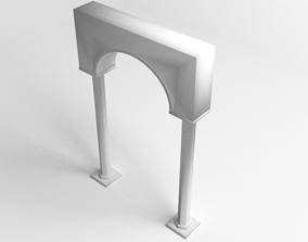 architectural Gateway Octagon 3D model