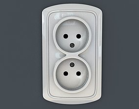 Outlet face plate 3D household