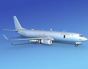 Boeing P-8 Poseidon NATO 3D model