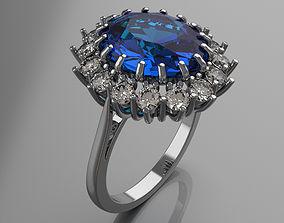 3D print model Ring Diana 2 sizes