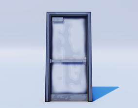 Cartoon Prop Essentials - Metal Door 3D asset