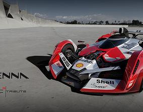 F1 concept senna tribute 3D asset game-ready