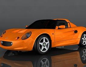 3D asset 1999 Lotus Elise