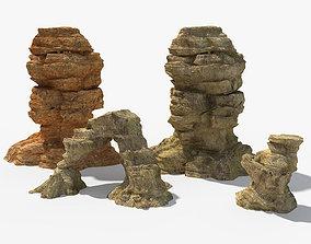 Desert Rock 3D model