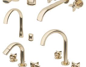 3D model Faucets Armani Roca Set 2