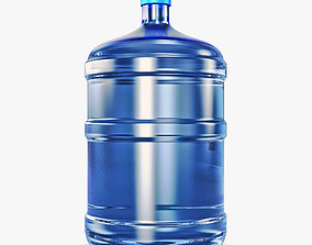 3D Water Bottle Container v 2