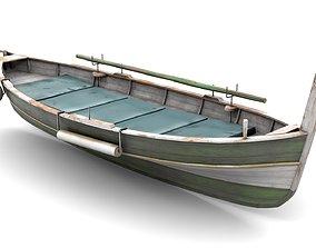 Fishing Boat 01 3D asset